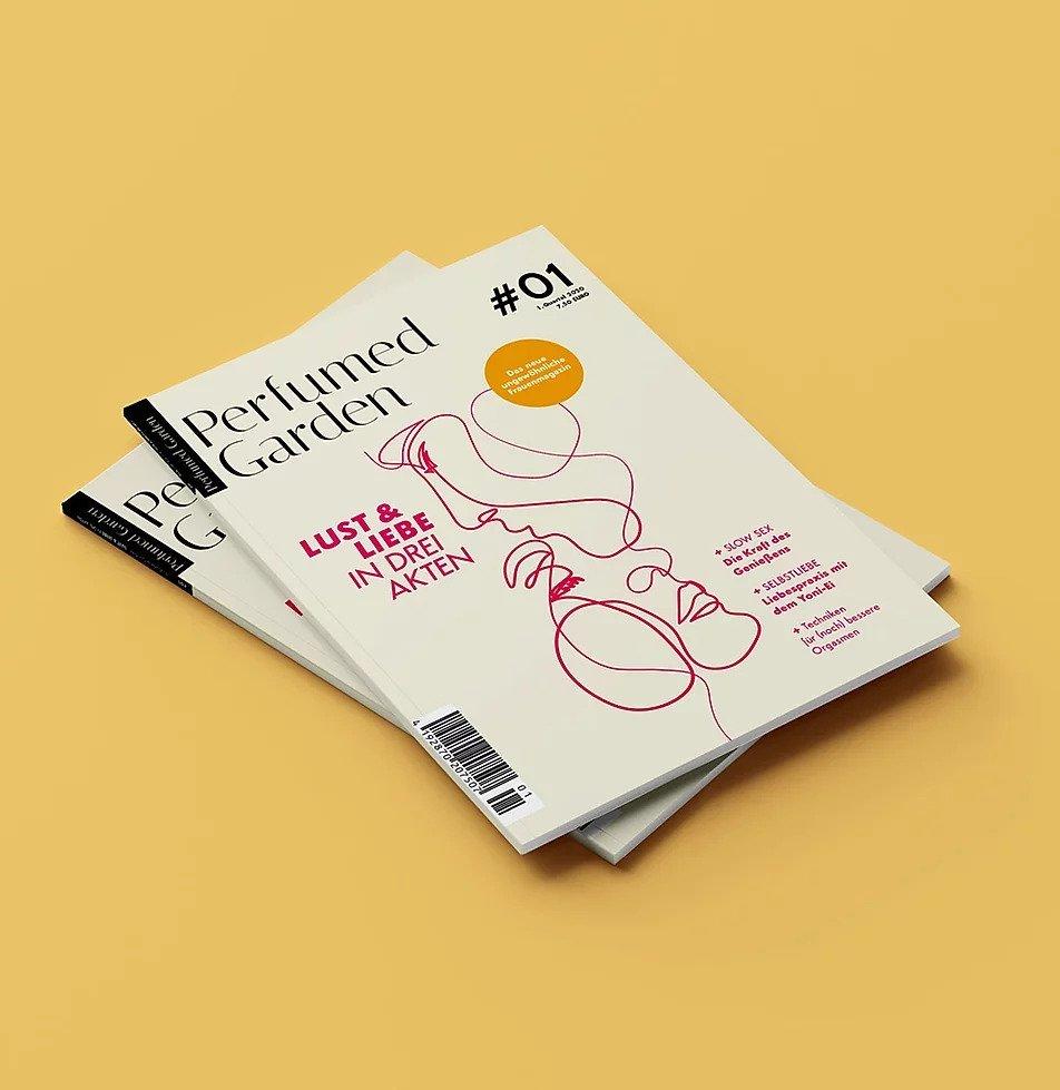 """Bild von dem Zeitschrift-Magazin """"Perfumed Garden"""""""
