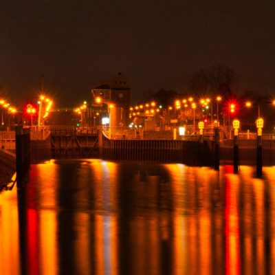 Picture of Bremen at night