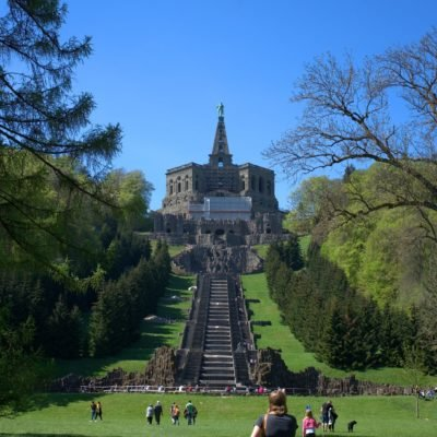 View to the Herculean Monument in Kassel