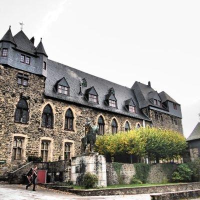 Bild vom Schloss Solingen