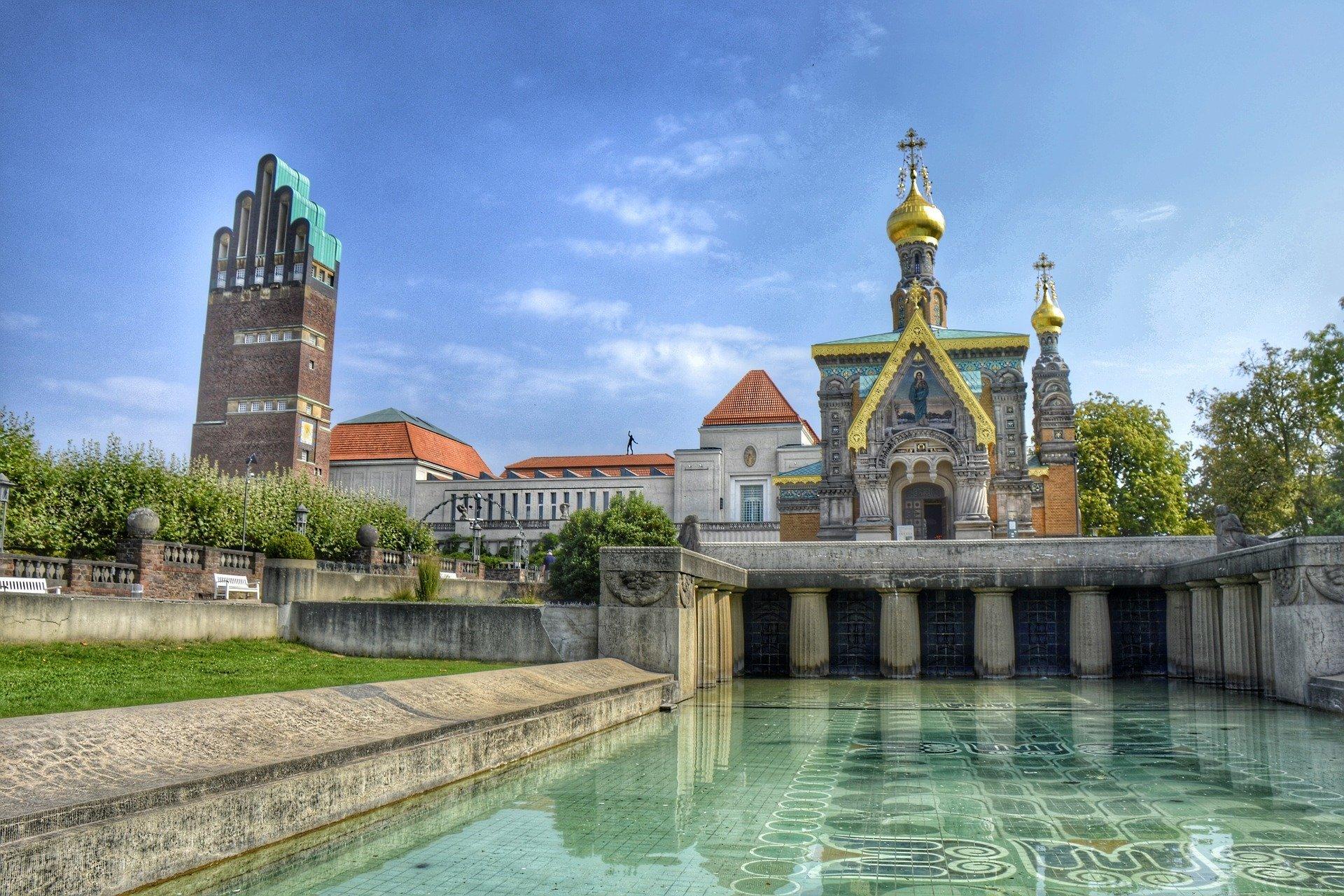 Altstadtimpressionen aus Darmstadt