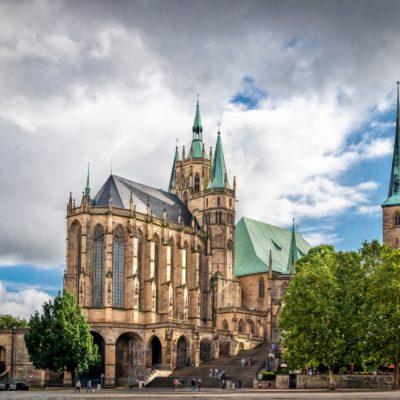 Kathedrale in Erfurt