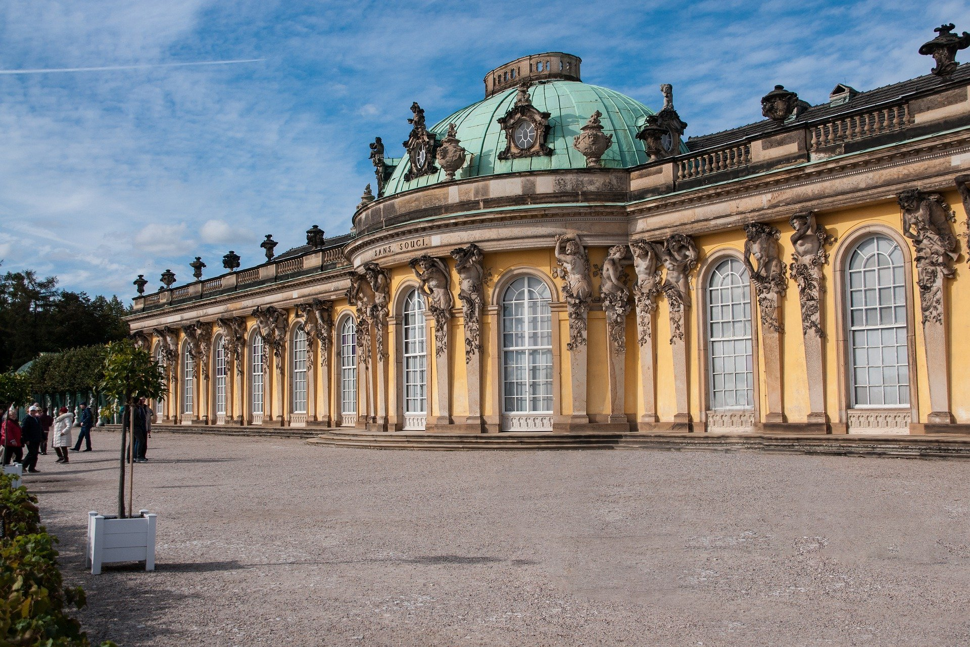 Regierungsgebäude in Potsdam