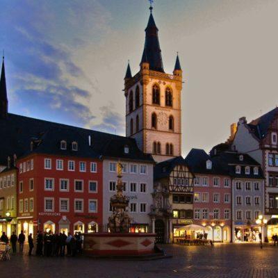 Altstadt und Marktplatz von Trier