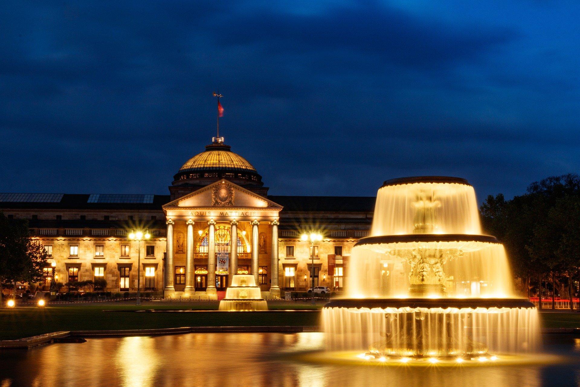Bild vom Kurpark in Wiesbaden