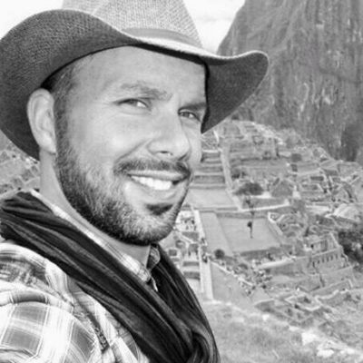 Gigolo Nick as a Travel Companion in Peru on the Top of Macchu Picchu