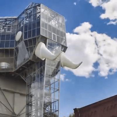 Stadt Hamm Elefantengebäude