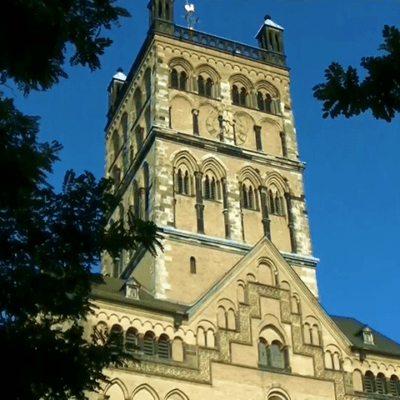 Churches in the town of Neuss
