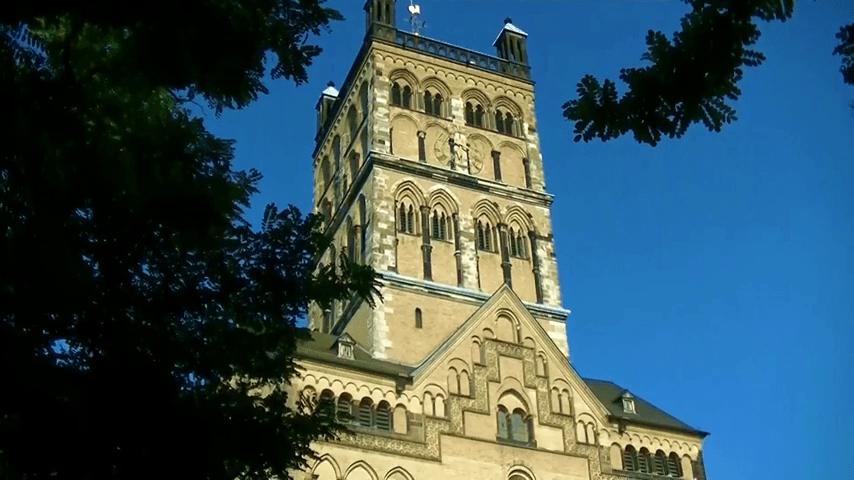 Kirche in der Stadt Neuss