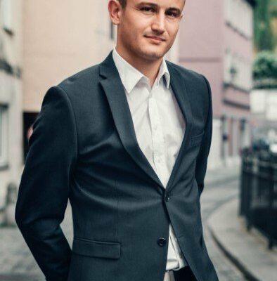 Bild von einem attraktiven Männermodel aus Augsburg