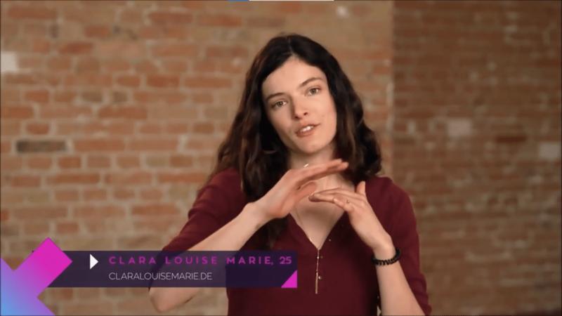 Clara Louise Marie beim Callboy Interview von Paula kommt