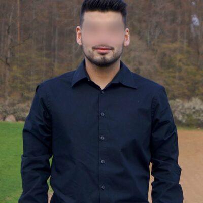 Sympathisches Männermodell aus Heidelberg